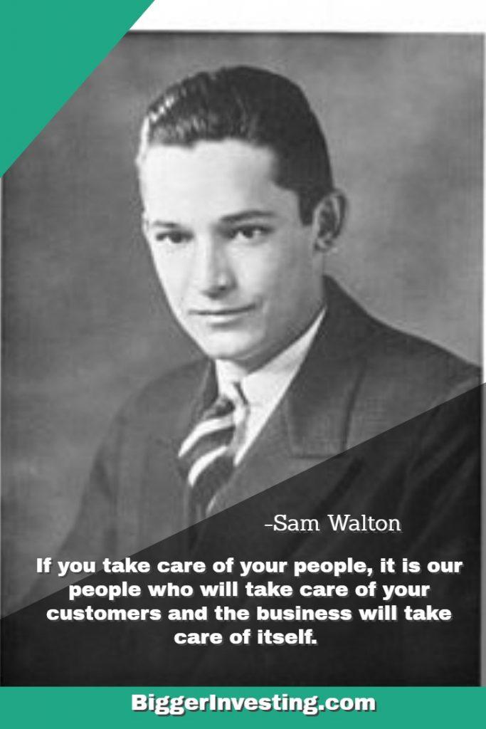 Sam Walton Made In America - Quote