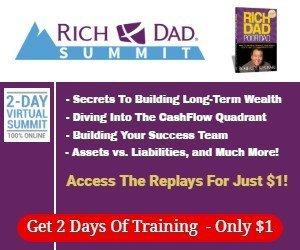Rich Dad Summit Ad